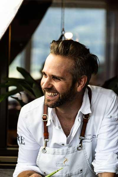 Vitus Winkler, Inhaber und Küchenchef Hotel Sonnenhof