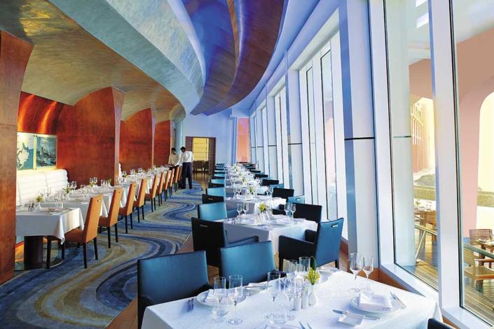 Shangri-La Maskat – Restaurantbeispiel
