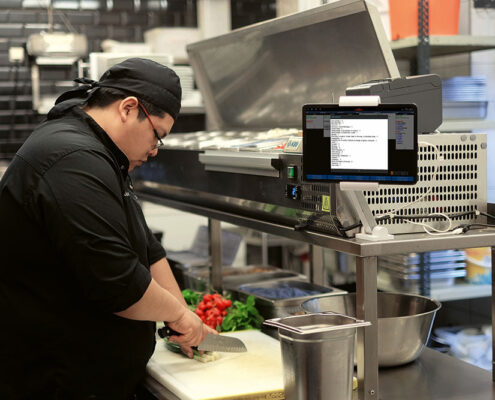 Küchenmonitore: Alles im Blick
