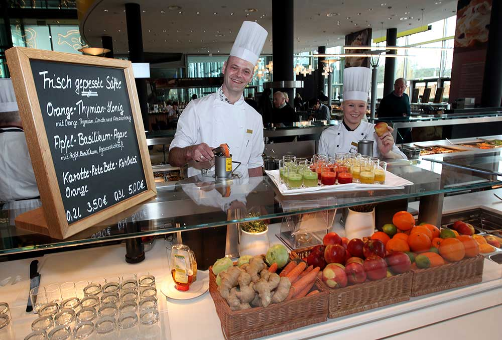 autostadt Restaurants, Wolfsburg: Lagune Foodhalls