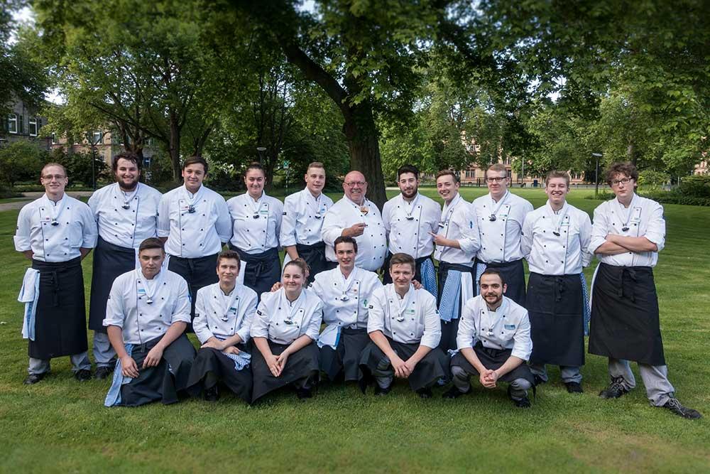 Top-Ausbildung für die Azubis der BASF Gastronomie