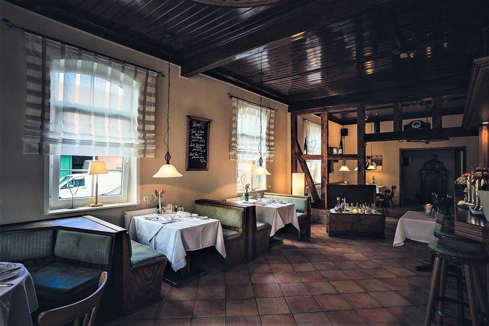 Gasthaus Müller: Blick in die Gaststube