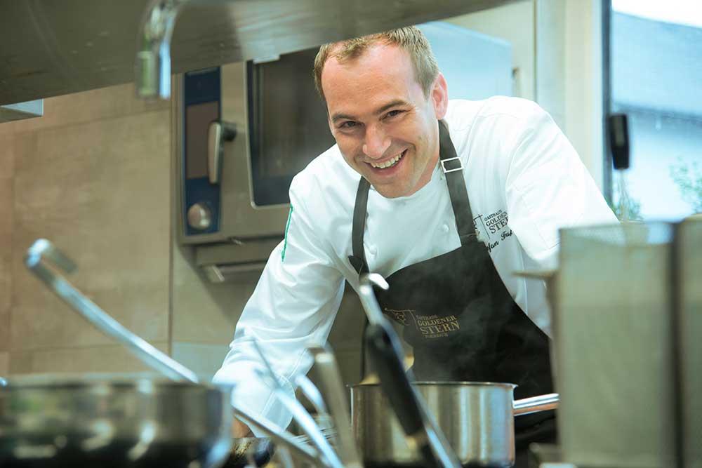 Goldener Stern, Friedberg: Ausbilder Stefan Fuß (Patron-Chef)