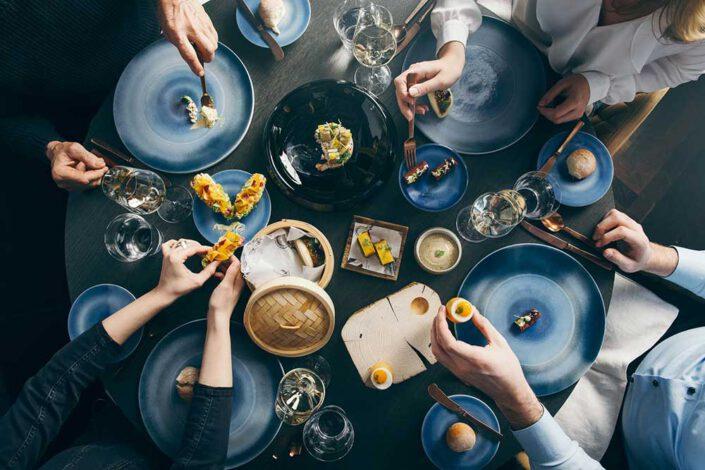 Im Pavo gibt es nur ein Menü, auf den Tisch kommen keine typischen Tellergerichte sondern Variationen