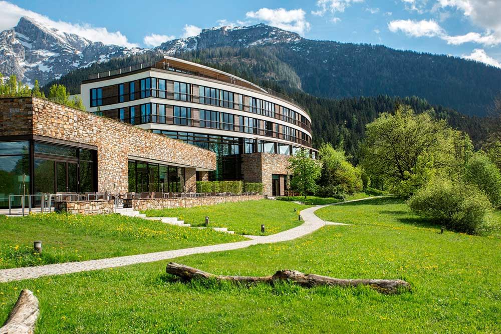 Kempinski Hotel Berchtesgaden – Aussenansicht