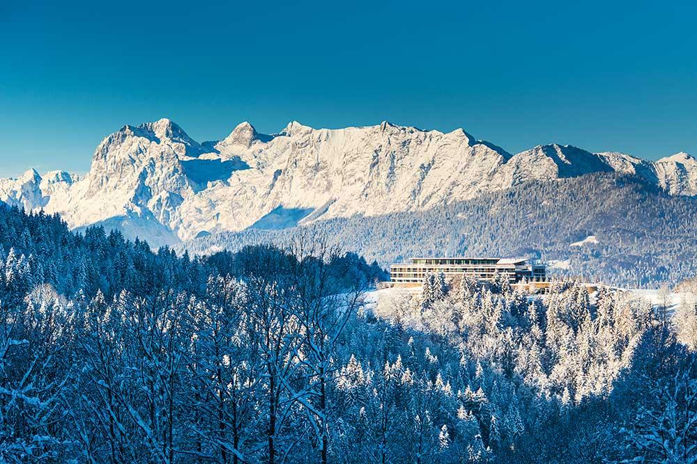 Kempinski Hotel Berchtesgaden – Traumhafte Lage im Berchtesgadener Land