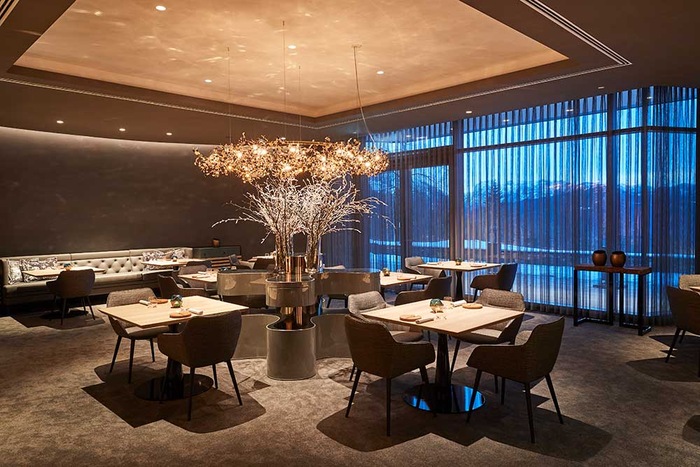 Kempinski Hotel Berchtesgaden – Blick ins Restaurant PUR