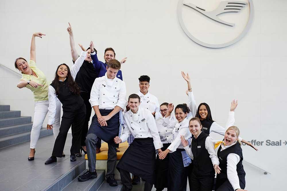 Lufthansa Seeheim: Motivierte Azubis