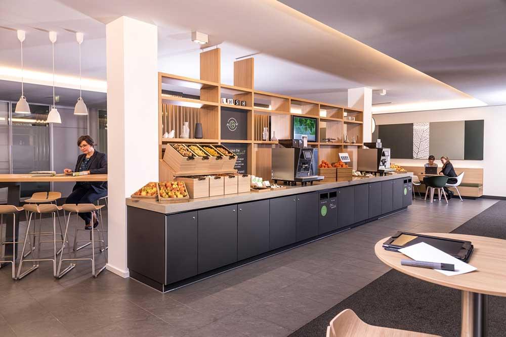 Lufthansa Seeheim: Coffeepoint
