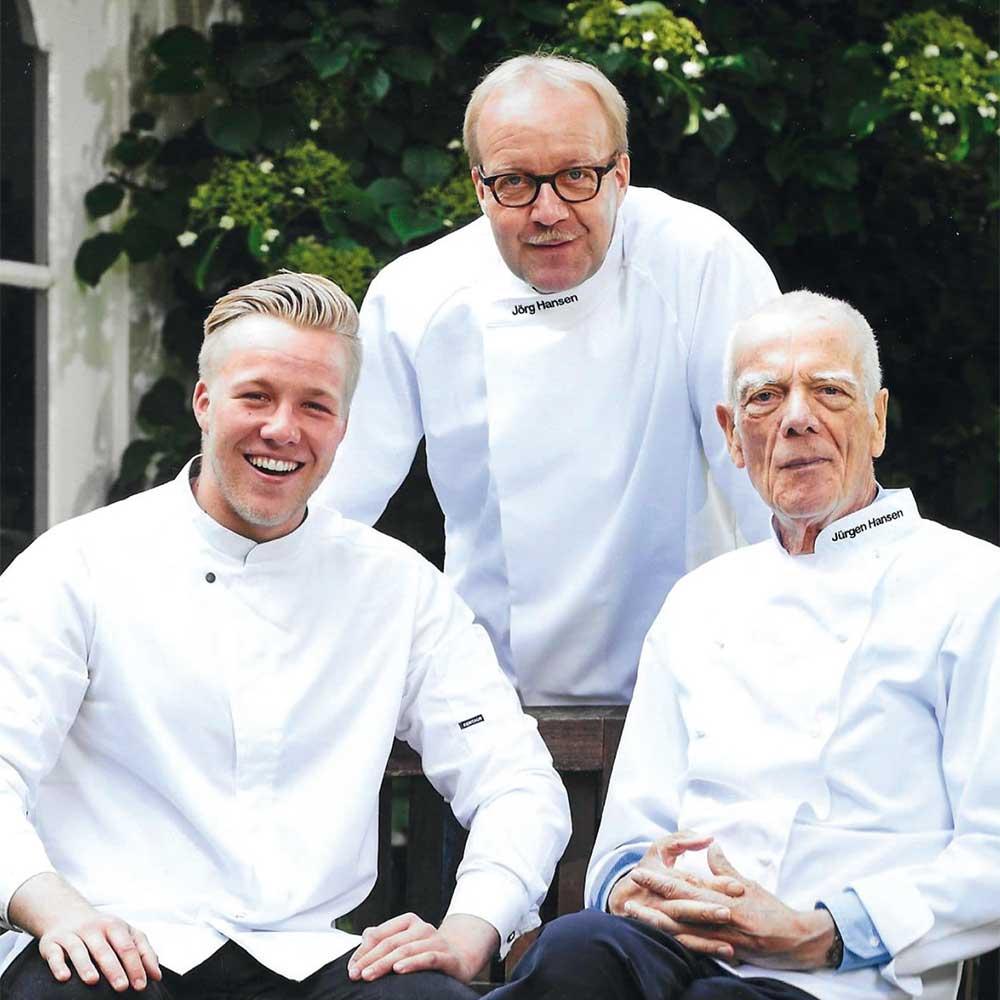 Generationenwechsel im Familienunternehmen: Nils, Jörg und Jürgen Hansen