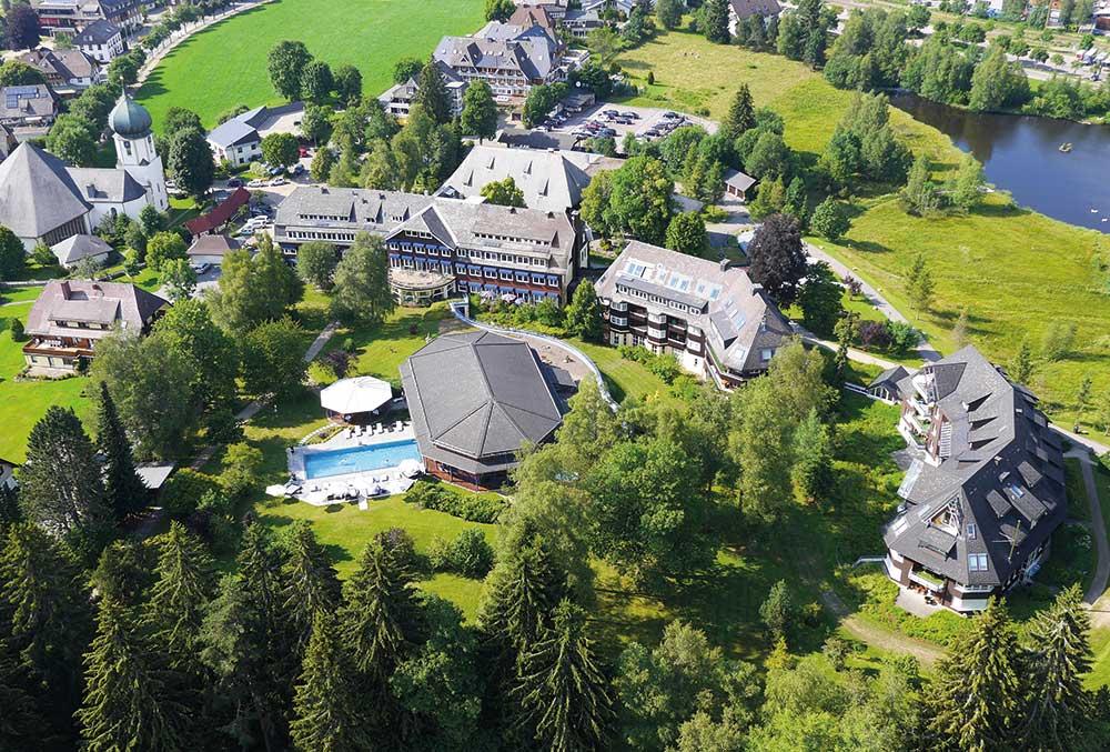 Parkhotel Adler, Hinterzarten: Luftbild