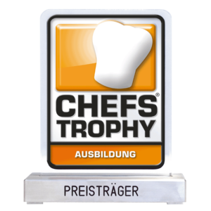 CHEFS TROPHY AUSBILDUNG Pokal Preisträger