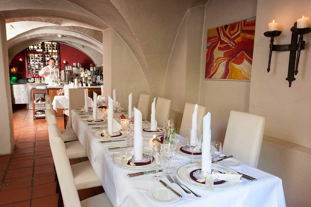 Ausbildung mit Mehrwert (Estrel, Berlin): Das Restaurant in Schloss Britz