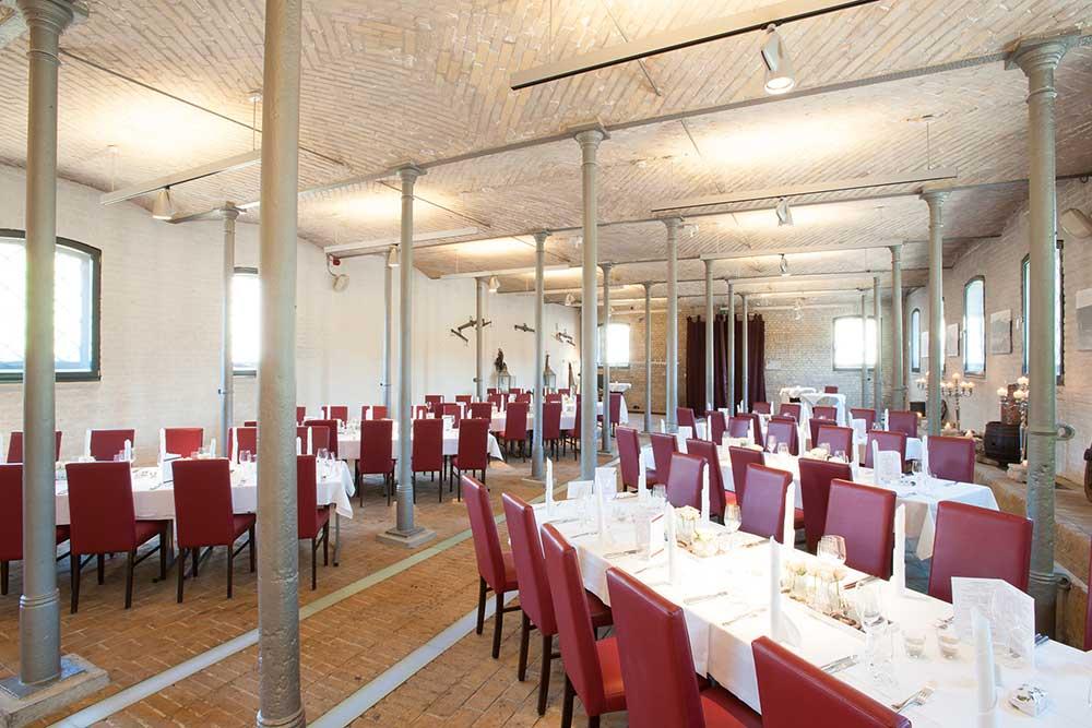 Ausbildung mit Mehrwert (Estrel, Berlin): Der Ochselstall von Schloss Britz