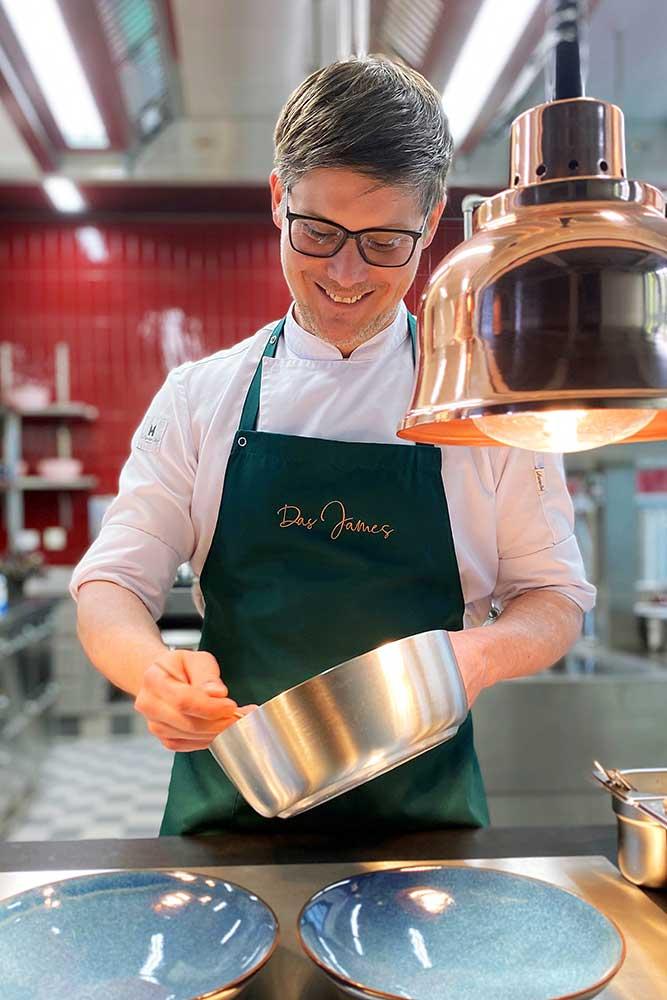 The James – Quirin Brundobler, der Herr der Küchen