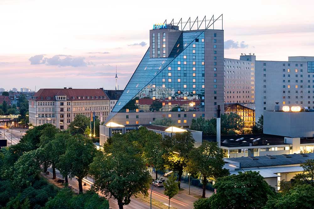 Das Estrel Hotel in Berlin