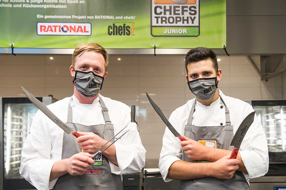 Die Gewinner der CHEFS TROPHY JUNIOR 2020: Lucas Eibl und Mateo Opacak