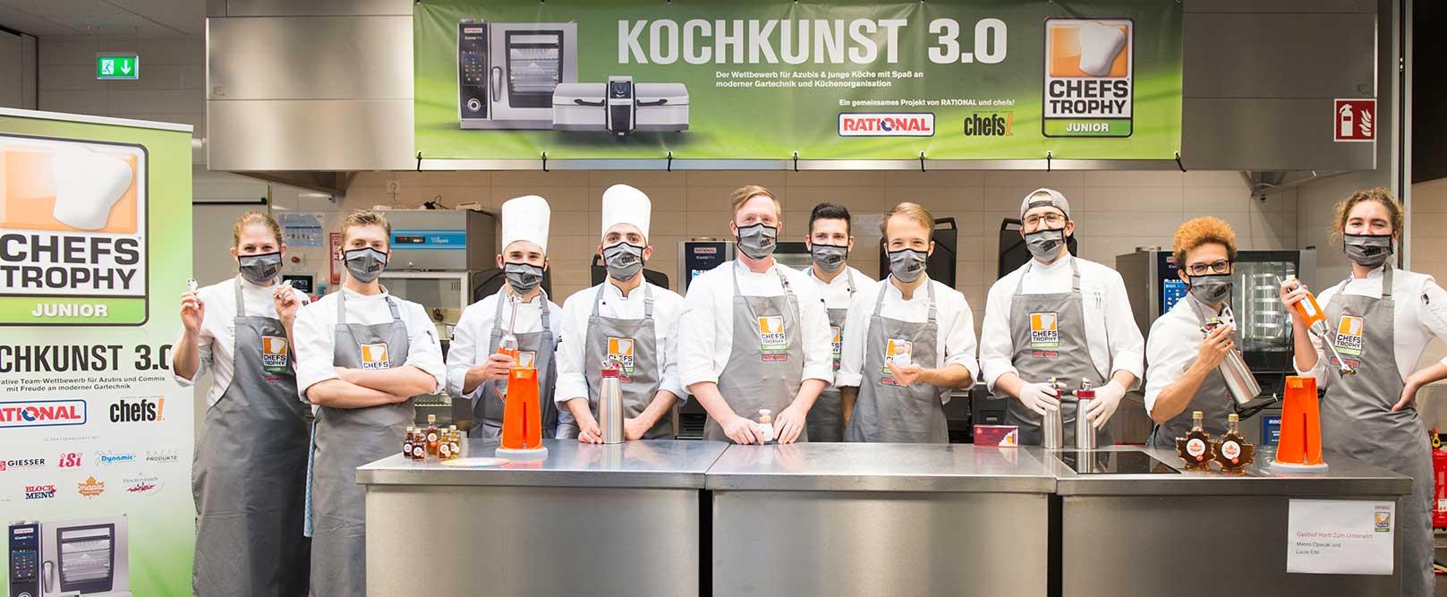CHEFS TROPHY JUNIOR 2020 – Am Start für Kochkunst 3.0