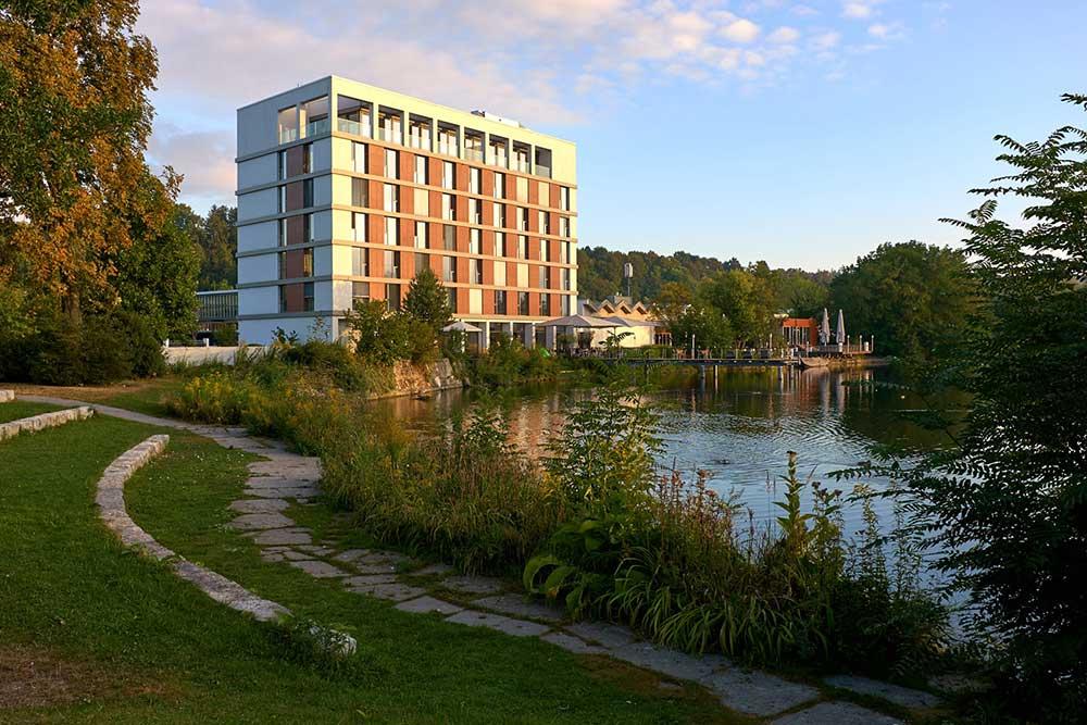 LAGO Hotel & Restaurant am See, Ulm –Aussenansicht
