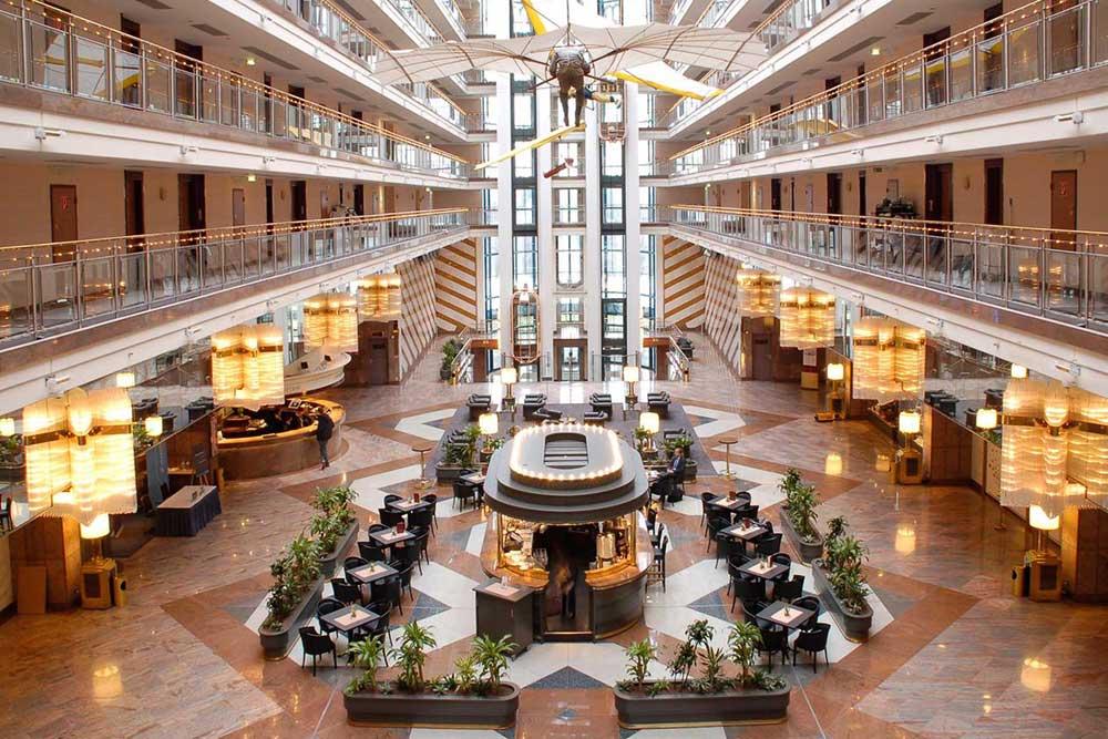 Maritim Airport Hotel Hannover: Beeindruckende Architektur