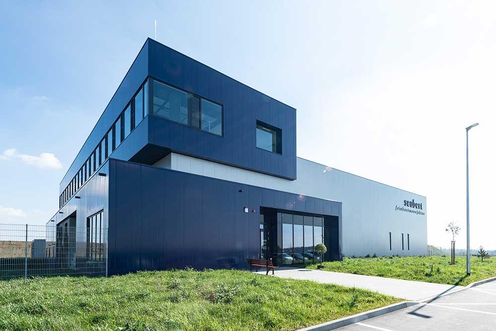 seubert Feinkostmanufaktur – Hochmoderne Produktionsstätte in Gerchsheim-Großrinderfeld