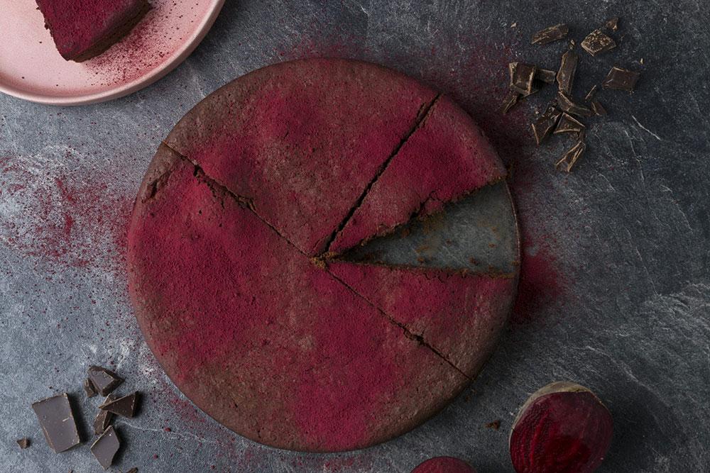 Rote-Bete-Schokokuchen