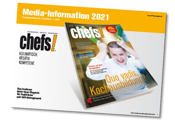 chefs! Mediadaten 2021