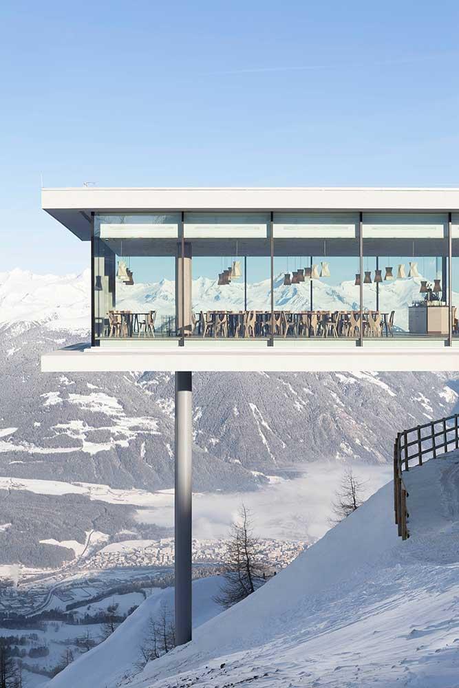 Spektakulärer Anblick und aussergewöhnliche Kulinarik – Norbert Niederkoflers Restaurant AlpiNN