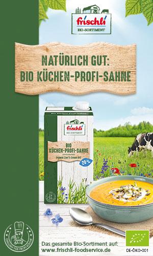 frischli Bio Küchen-Profi-Sahne