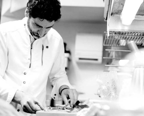 TIAN-Küchenchef Paul Ivić @work