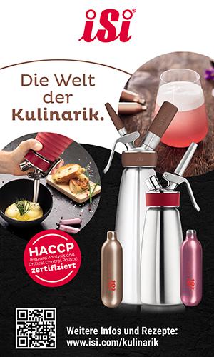 iSi. Die Welt der Kulinarik.